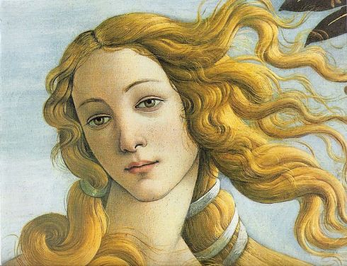 Venus_botticelli_detail