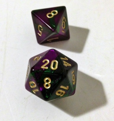 D20 and D8