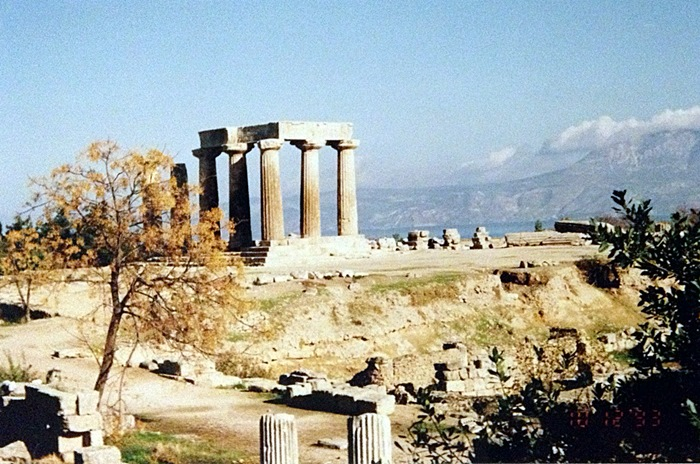 Temple of Apollo, Ancient Corinth (one of my favourite photos)