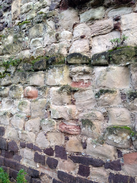 Exeter wall