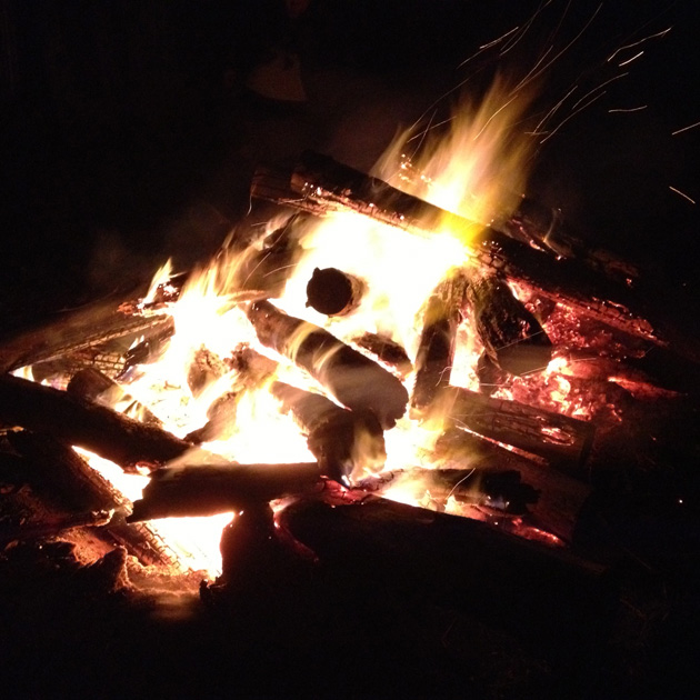 Light - bonfire