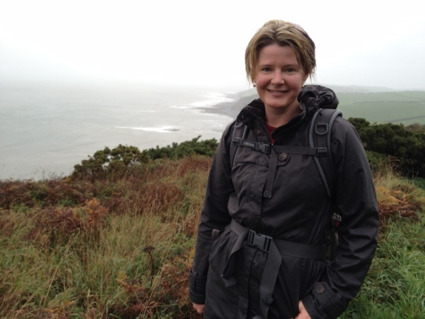 Drenched on the South-West Coast Path