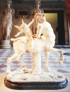 Statue of a centaur, Louvre Museum, Paris