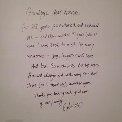 farewell message