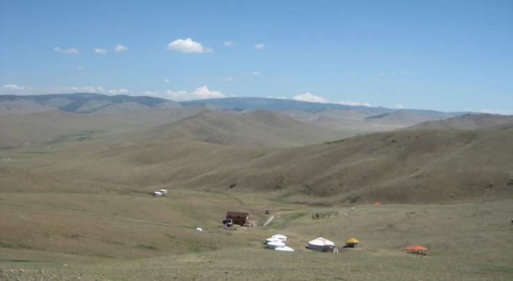 Steppe Riders camp, Mongolia