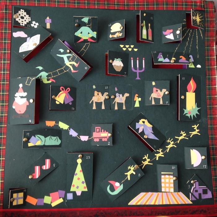 Advent calendar - handmade by me