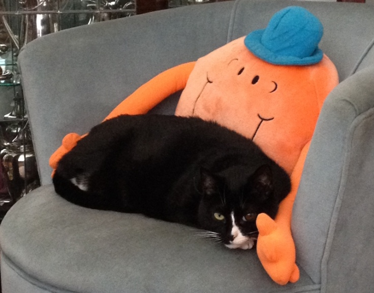 Chenna with Mr Tickle December 2015