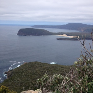 Cape Raoul and Crescent Bay