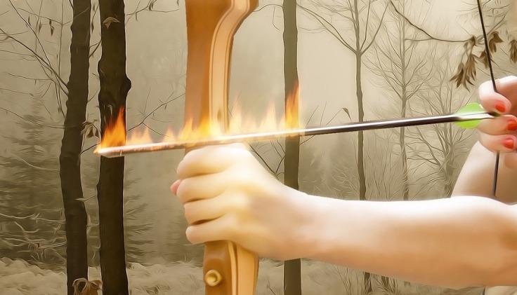 flaming arrow2