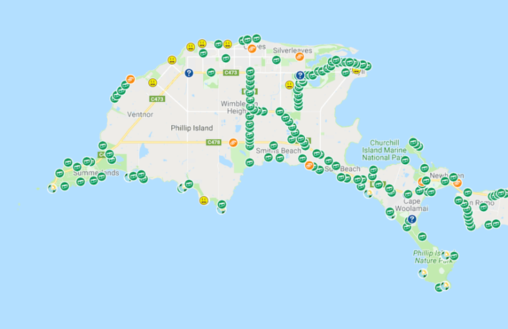 geocaches-PhillipIsland