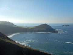 Near Kenidjack Cliff Castle (View of Cape Cornwall)